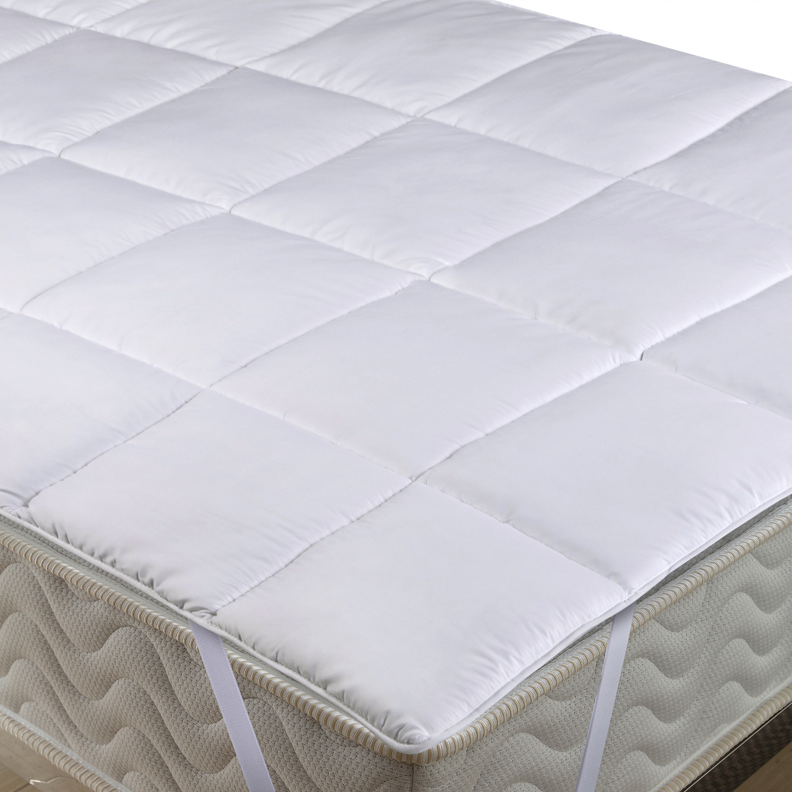 Merino Schafschurwolle Lammflor Matratzenauflage Topper Unterbett Bettauflage